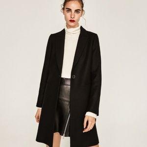 a430208c Women Zara Masculine Coat on Poshmark